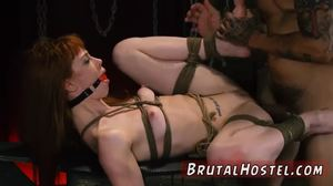 Rough, Bound, Bondage, High definition, Clothes ripped, Teen, Striptease